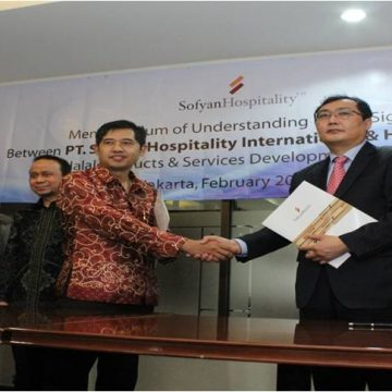Joint Venture on The Development & Cooperation in Halal Products & Services between PT Sofyan Hospitality International and Halal Korea Inc